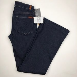 7 for all mankind dojo flare jeans 27x33